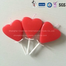 China Großhandel Red Heart Shaped Kerze