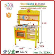 2015 Нетоксичные и высококачественные деревянные кухонные гарнитуры Новые игрушки для кухни для детей
