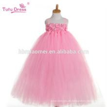 2017 neue mode koreanische ein stück dance wear tutu kleid rosa farbe bauschige professionelle tutu kleid für babys leistung