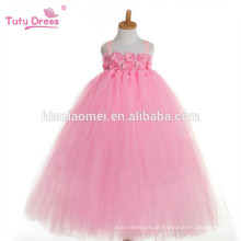 2017 nova moda coreano um pcs dança desgaste tutu vestido rosa cor puffy tutu profissional vestido para desempenho meninas bebê