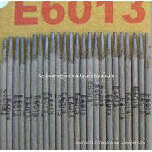 Tige de soudure, tige de soudure, Aws E6013 Tige de soudure / Matériau de soudure / Electrode de soudure