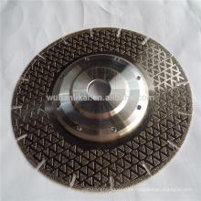 discos de corte de mármol electrochapados personalizados de alta calidad