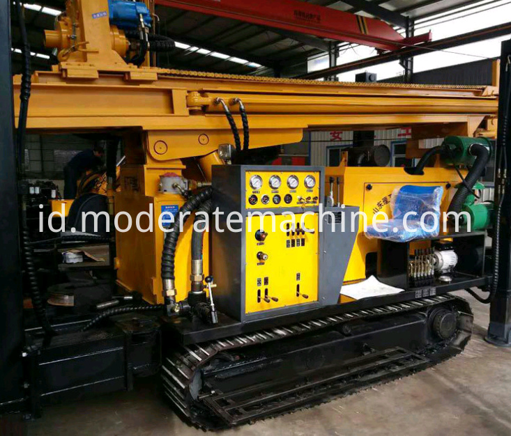 FY600 water well drilling rig 5