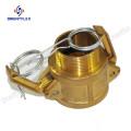 Acoplamiento rápido de acoplamiento de aluminio Camlock