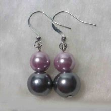 Fast Delivery for Chain Necklace Imitation Double Pearls Dangle Earrings export to Antarctica Factory
