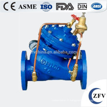 Vanne de régulation JD745X multi fonctionnel eau pompe