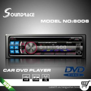 Reproductor de DVD para coche compatible con formato MP3 / MP4 / WMA S8006