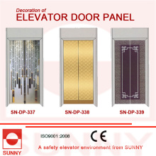 Hiarline Stainless Steel Door Panel for Elevator Cabin Decoration (SN-DP-337)