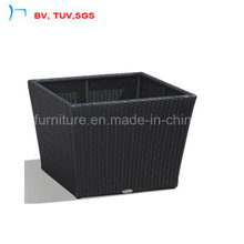 Big High Quality Rattan Flower Garden Pot (L-006)