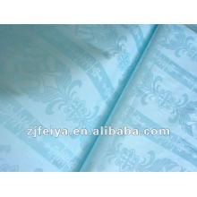 2015 recién llegado de algodón Brocade Bazin tela nigeriana