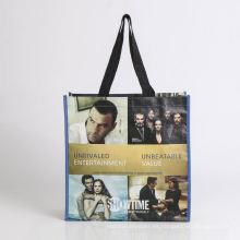 Bolso promocional con bolsa plegable para el bolso de compras