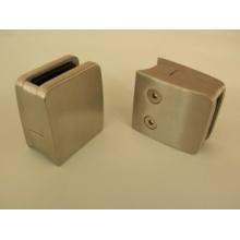 Edelstahl-Glasklemme für Handlauf-Pfosten-System mit Sicherheitsplatte