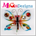New Arrival Colorful Dragonfly Metal Craft Art Gift