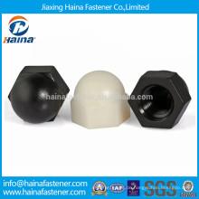 Kunststoff- oder Nylon-Materialmuttern für dekorative