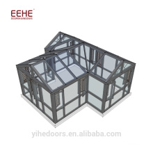 Aluminium Sunroom Roof Prefabricated Sunrooms for Sale