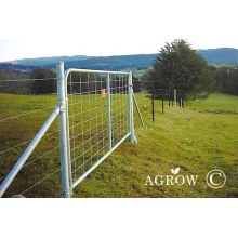 Vertical I Stay Mesh Infill Farm Gates