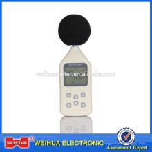 Medidor de nivel de sonido medidor de ruido portátil medidor de nivel de sonido WH1358