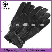 2013 gant de couture en cuir chaud en fourreau