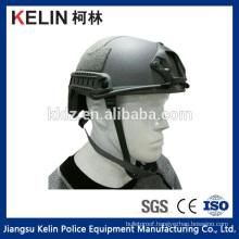 Fast ballistic helmet for combating