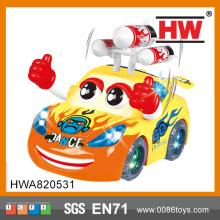 Reka bentuk muzikal menari mainan kereta baru