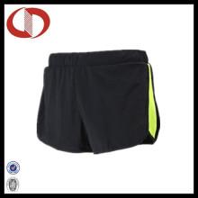 100% Polyester Breahable Sport Running Shorts für Frauen