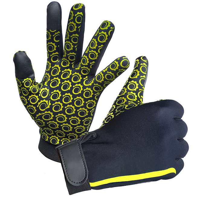 Four Way Stretch Material Gloves