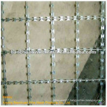 Hot dip galvanized BTO-12 protecting Prison Fence