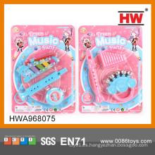 2015 mini juguetes vendedores calientes de los juguetes instrumentos musicales plásticos