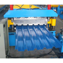 Galvanized Steel PLC Panasonic Double Layer Roof Sheet Roll Forming Machine