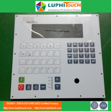 Struktur saku Stainless Steel Backer Membran Keypad