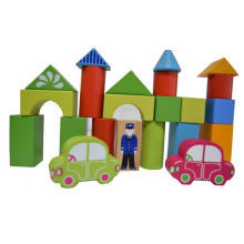creative building block toys for kids,polystyrene number, puzzle design building block