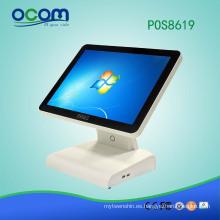 POS8619: máquina electrónica del registro de caja de la posición electrónica económica de la pantalla táctil del supermercado para la venta