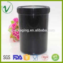 1 litro de contenedor de plástico de qualidade alimentar HDPE para sorvete