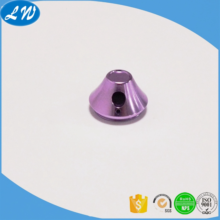 Color Anodized Part
