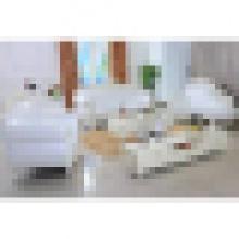 Кожаный диван комплект для гостиной, мебель (929P)
