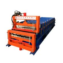 Doppelschicht-Rollformmaschine / die Ausrüstung für die Herstellung von Metallfliesen-Dachblechmaschine