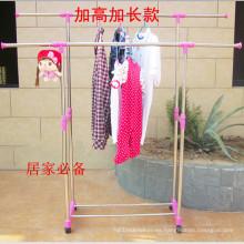 Secador de ropa plegable de acero inoxidable bricolaje
