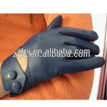 Wholesale Cheap blue Leather summer hand gloves