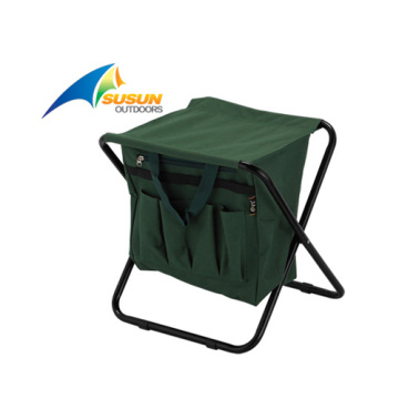 Fishing Stool With Cooler Bag