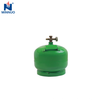 Jemen 2kg Mini Propan LPG Tankzylinder