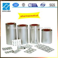 Rouleau de feuille d'aluminium imprimé de qualité pharmaceutique