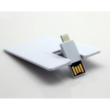 High Speed Business Card USB Flash Drive Credit Card OTG Flash Disk for Promotion USB Pen Drive