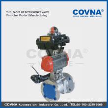 Pneumatic remote control pneumatic valve