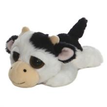 Juguetes rellenos de vaca de peluche de felpa de vaca