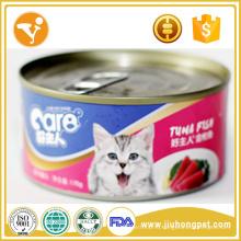 Cat Snack Canned Cat Food Tuna Flavor Высококачественная мокрая корма для кошек