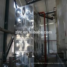 Tanque de agua cuadrada de acero inoxidable 304