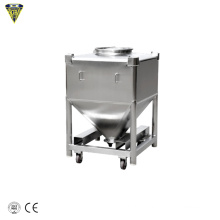 1000l liter stainless steel food grade ibc bulk tote tank container