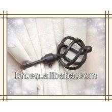 Laço de cortina magnético metálico