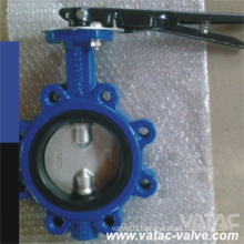 Pn16&Cl150 Wafer Type Ductile Iron&Cast Iron Ggg50&Ggg40 Butterfly Valve