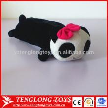Cute plush animal panda pencil case